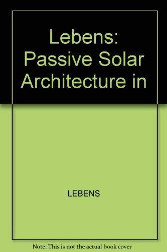 9780470272664: Passive Solar Architecture in Europe