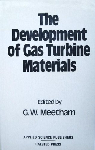 9780470272732: The Development of gas turbine materials