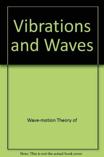 9780470274460: Vibrations and Waves