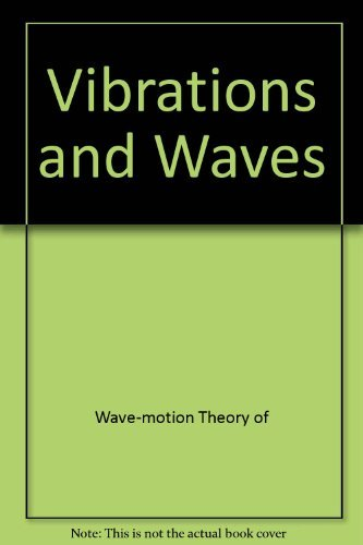 9780470274460: Vibrations and Waves (Ellis Horwood Series in Mathematics and Its Applications)