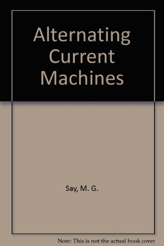 9780470274514: Alternating Current Machines