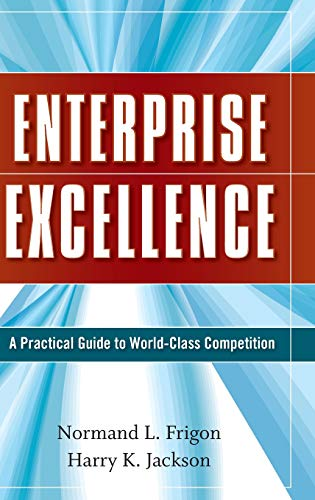 9780470274736: Enterprise Excellence: A Practical Guide to World Class Competition