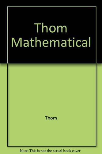 9780470274996: Thom Mathematical