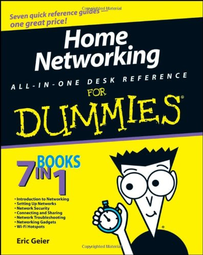 9780470275191: Home Networking All-in-One Desk Reference For Dummies
