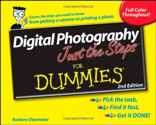 9780470275580: Digital Photography Just the Steps For Dummies