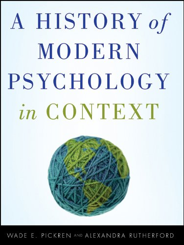 9780470276099: A History of Modern Psychology in Context