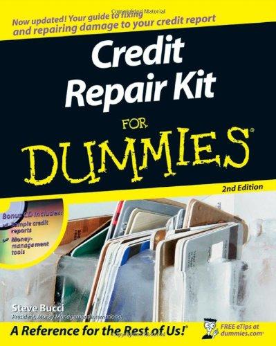 9780470276730: Credit Repair Kit For Dummies