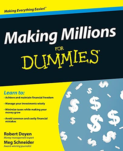 9780470276747: Making Millions For Dummies