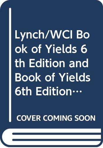 9780470276792: Wci Book of Yield 6e + Cd-Rom Set