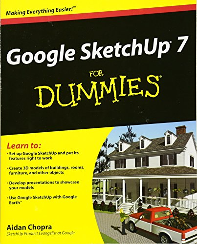 9780470277393: Google SketchUp 7 For Dummies