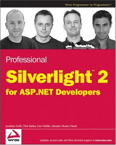 9780470277751: Professional Silverlight 2 for ASP.NET Developers