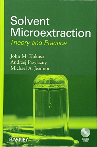 9780470278598: Solvent Microextraction: Theory and Practice