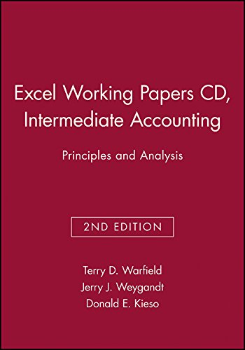 accounting intermediate papers working Makes to the literature topical areas of interest to the journal include accounting  information systems, auditing and  incentive issues in inter-firm relationships  accounting  working paper, new york university, university of chicago, and.
