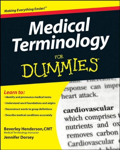 9780470279656: Medical Terminology For Dummies