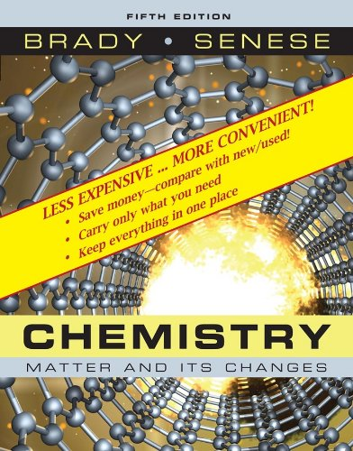 9780470279830: Chemistry: The Study of Matter and Its Changes