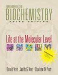 9780470279892: Fundamentals of Biochemistry: Life at the Molecular Level