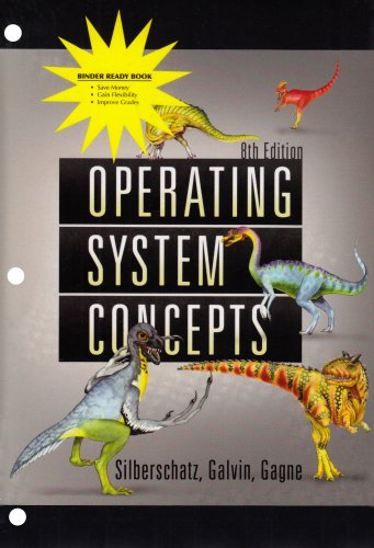 9780470279939: Operating System Concepts 8th Edition Binder Ready Version