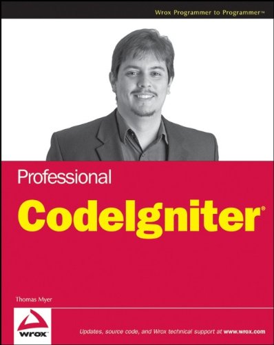 9780470282458: Professional CodeIgniter
