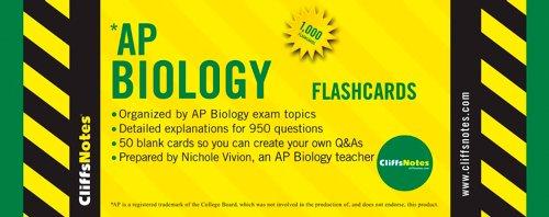9780470282816: CliffsNotes AP Biology Flashcards