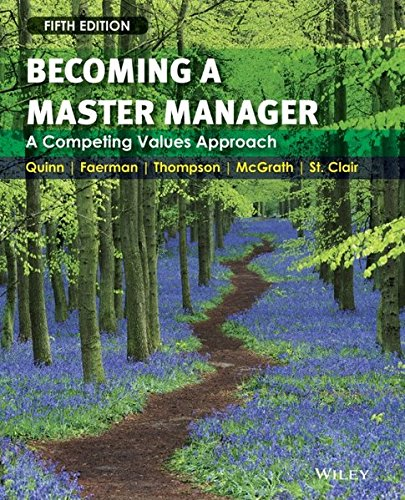 9780470284667: Becoming a Master Manager: A Competing Values Approach