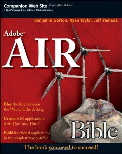 9780470284681: Adobe AIR Bible