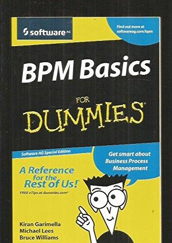 9780470285718: Bpm Basics for Dummies