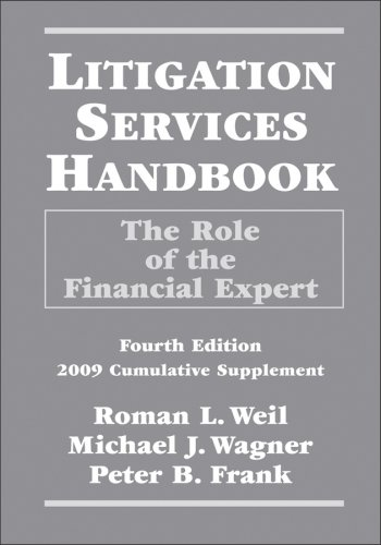 9780470286609: Litigation Services Handbook, 2009 Cumulative Supplement: The Role of the Financial Expert