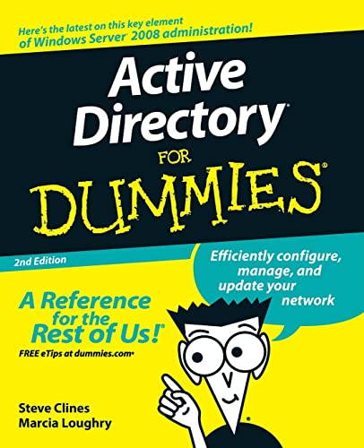9780470287200: Active Directory for Dummies
