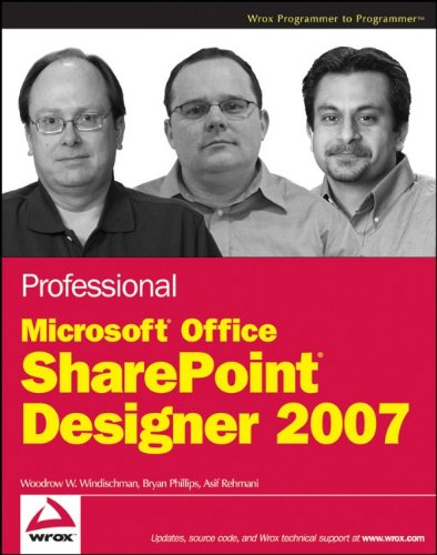 9780470287613: Professional Microsoft Office SharePoint Designer 2007