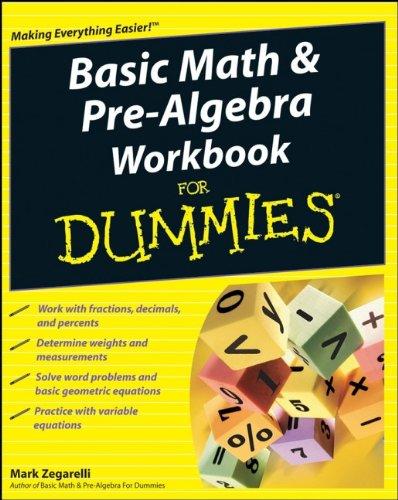 9780470288177: Basic Math and Pre-Algebra Workbook For Dummies