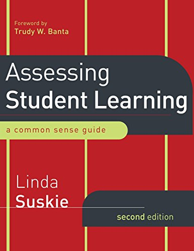 9780470289648: Assessing Student Learning: A Common Sense Guide