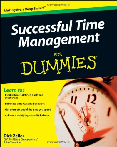 9780470290347: Successful Time Management for Dummies