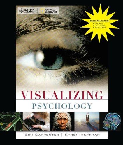 9780470290477: Visualizing Psychology Binder Ready Version