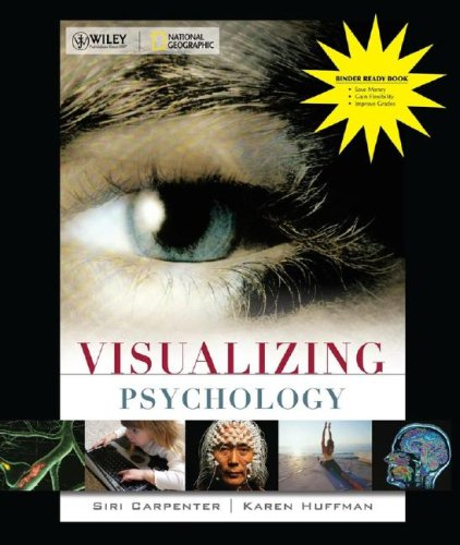 9780470290477: Visualizing Psychology Binder Ready Version