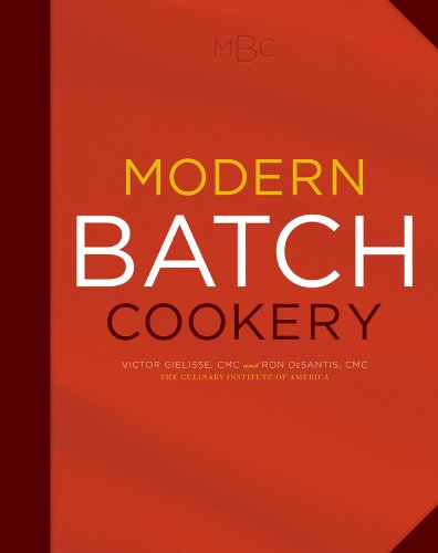 9780470290484: Modern Batch Cookery