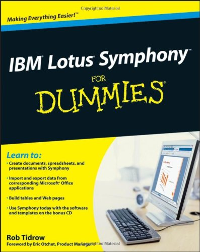 9780470290798: IBM Lotus Symphony For Dummies