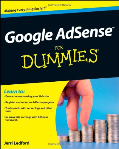 9780470292891: Google AdSense For Dummies
