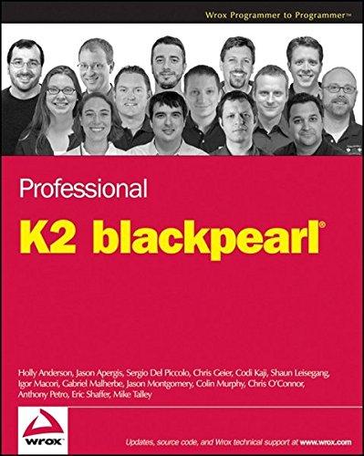 9780470293058: Professional K2 Blackpearl (Wrox Programmer to Programmer)