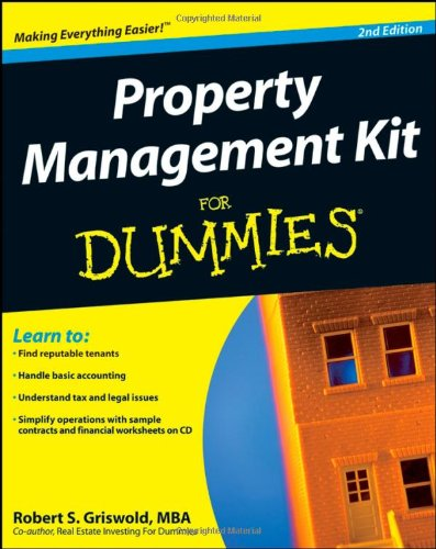 9780470293294: Property Management Kit For Dummies (Book & CD)