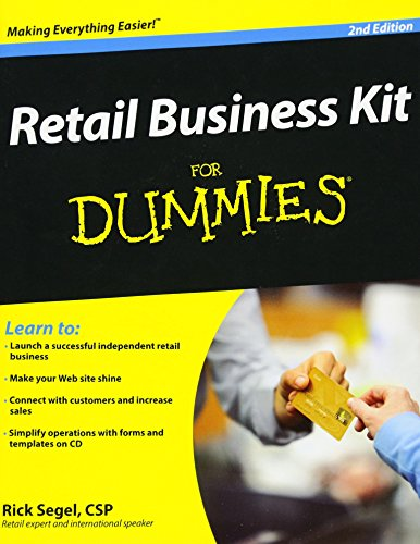 9780470293300: Retail Business Kit For Dummies