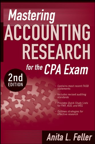 9780470293386: Mastering Accounting Research for the CPA Exam