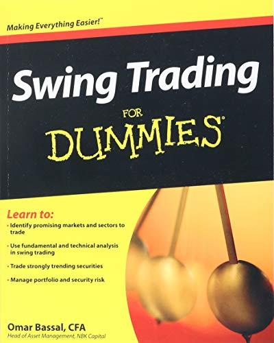 Swing Trading for Dummies (Paperback): Omar Bassal
