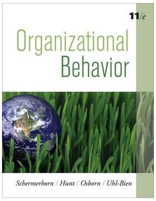 9780470294413: Organizational Behavior