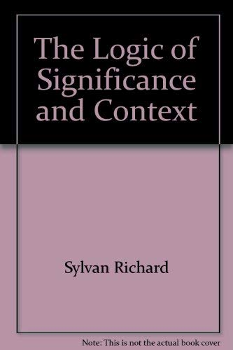 The logic of significance and context: Goddard, Leonard