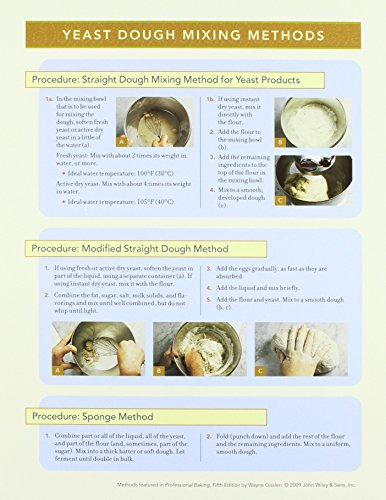 9780470313879: Professional Baking Method Cards (Package of Four Cards)