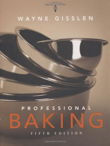 9780470316528: Professional Baking: WITH Professional Baking Method Cards