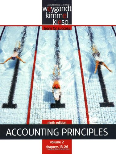 Paperback Volume 2 of Accounting Principles: Jerry J. Weygandt,
