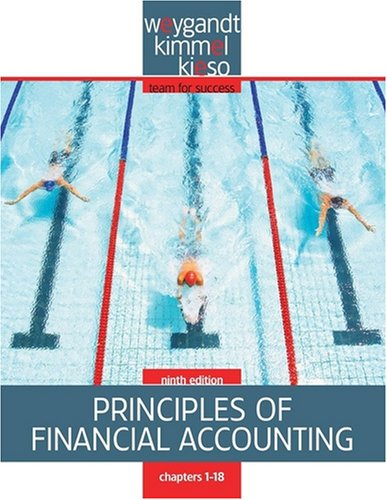9780470317587: Principles of Financial Accounting, Chapters 1-18