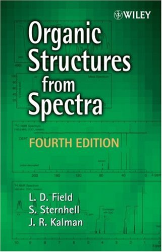 9780470319277: Organic Structures from Spectra