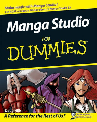 9780470323083: Manga Studio for Dummies